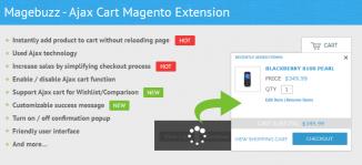 Ajax Cart Magento Extension - MageBuzz