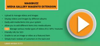 Media Gallery Magento Extension - MageBuzz