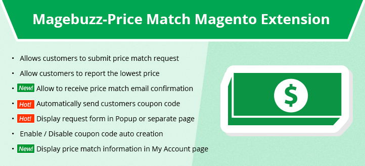 Price Match Magento Extension - MageBuzz