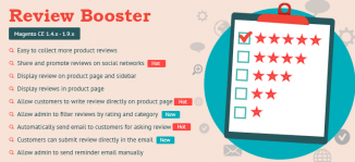 Review Booster Magento Extension - MageBuzz