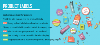 Product Labels Magento Extension - MageBuzz