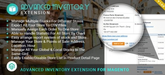 Advanced Inventory Extension For Magento