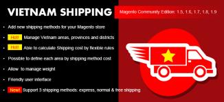 Vietnam Shipping Magento Extension - MageBuzz