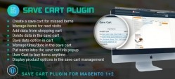 Magento Save Cart Plugin