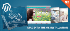 Magento Theme Installation With Sample Data