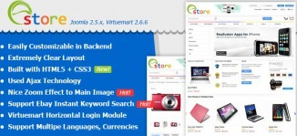 Joomla Ebay Virtuemart Template