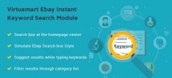 Virtuemart Ebay Instant  Keyword Search Module
