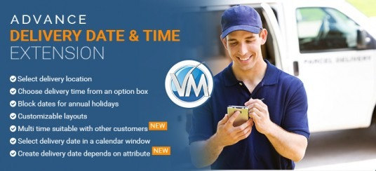 Advance delivery date & time for virtuemart