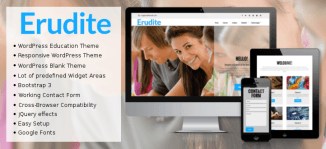 Erudite WordPress Education Theme - OrdaSoft