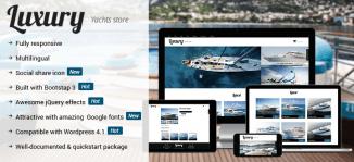 Luxury WordPress Theme - OrdaSoft
