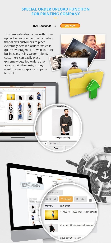 Joomla tshirt design - Product Specification Of Joomla Virtuemart Responsive Printing Company Template