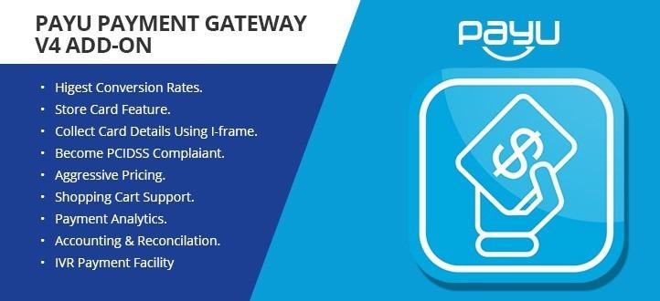 PayU Payment Gateway V4 Add-on CS Cart