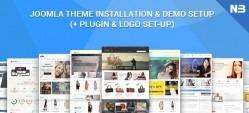 Joomla Theme Quick Start Installation