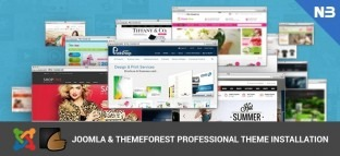Joomla Themeforest Professional Theme Installation