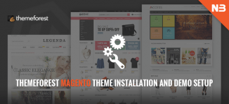 Themeforest Magento Theme Installation and Demo Setup