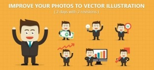 Improve Your Photos to Vector Illustration