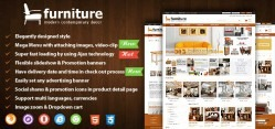 Joomla Furniture Virtuemart Template