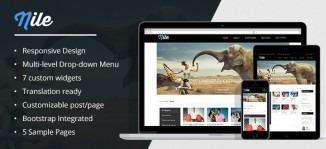 Nile - Awesome WordPress Magazine Theme