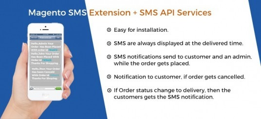 Magento SMS Extension + SMS API Services