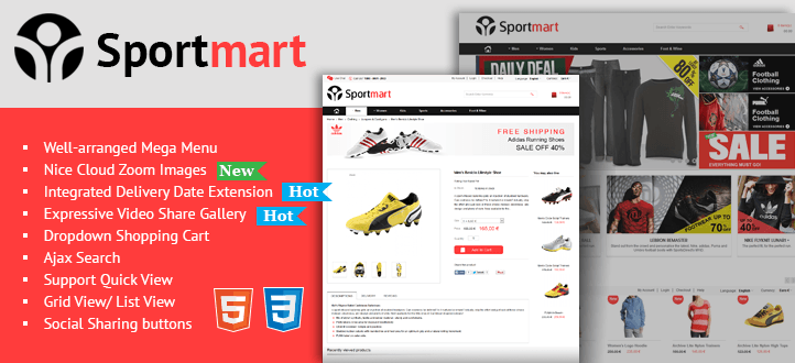 Virtuemart Responsive Template