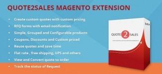 Quote2Sales Magento Extension
