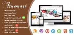 Joomla Truemart Pro Virtuemart Template