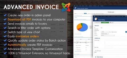 Advanced Virtuemart Invoices