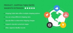 Shipping Table Rates Magento Extension