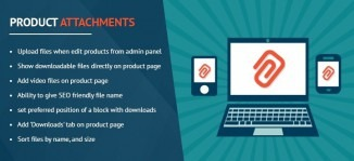 Product Attachments Magento Extension - KodeMatix