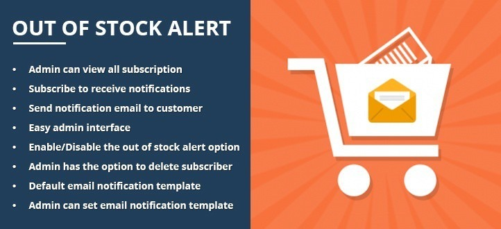 Out Of Stock Alert Magento Extension - KodeMatix