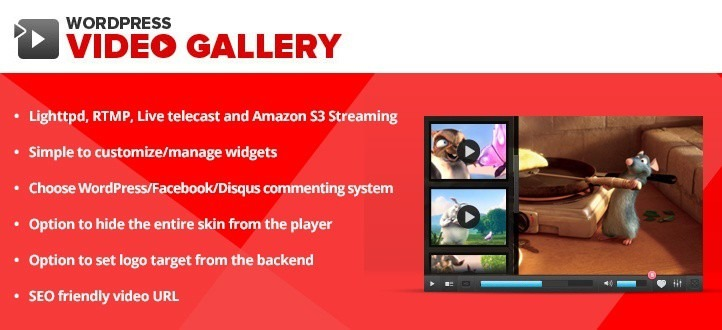 Wordpress Video Gallery Plugin - Apptha