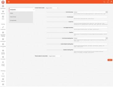 screenshots Magento PrintMart Website Theme Integrated Online Design Package