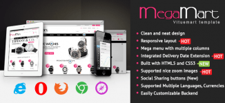 Mega | Multipurpose Responsive Virtuemart Template