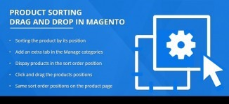 Magento Product Sorting Drag and Drop