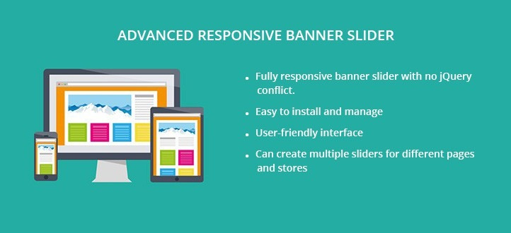 Advanced Responsive Banner Slider Extension