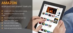 Amazon Joomla Virtuemart Template