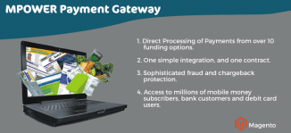 Magento MPOWER Payment Gateway Extension