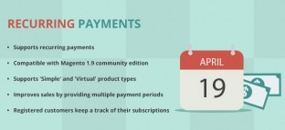 Magento Recurring Payments Extension by Apptha