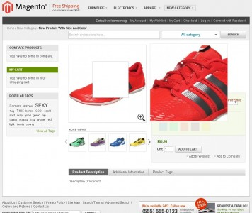 screenshots M2 SWATCH   Magento 2 Color Swatch Extension With Zoom