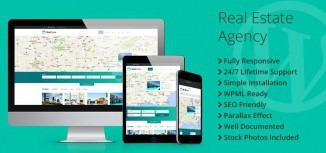 Real Estate Agency Responsive WordPress Theme - TemplateMonster