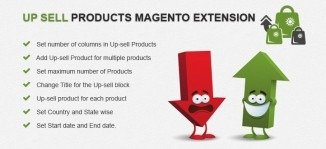 Up Sell Products Magento Extension