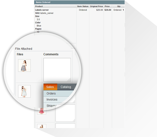 Magento Order Upload Extension | Magento Product File Upload