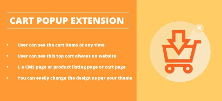Cart Popup Magento Extension