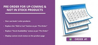 Pre Order for Up-Coming & Not In Stock Products Magento Extension