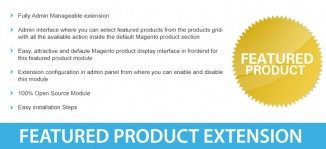Featured Product Magento Module - M-Connect