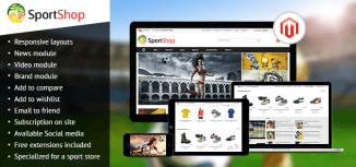 Sport Store Magento Theme