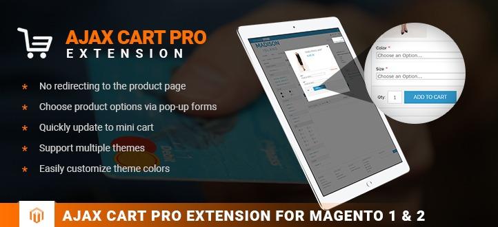 Magento Ajax Cart Pro