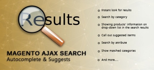 Magento Ajax Search Autocomplete and Suggest