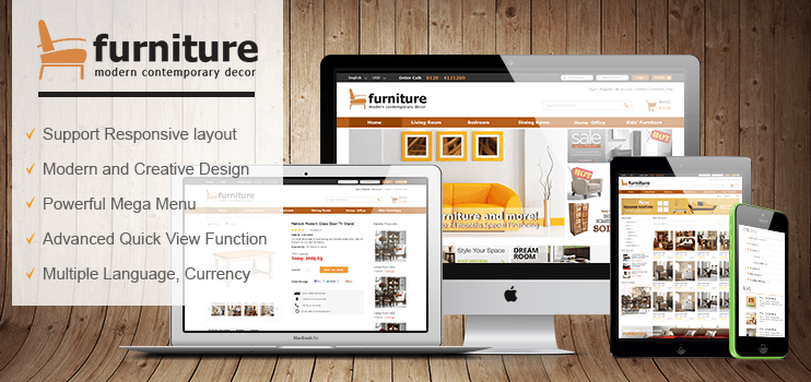 Magento Furniture Theme