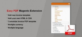 Easy PDF Invoice Magento Extension